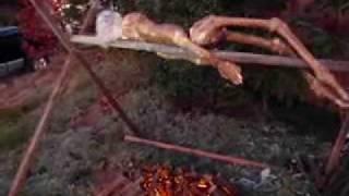 Rotisserie Corpse - Halloween 2009