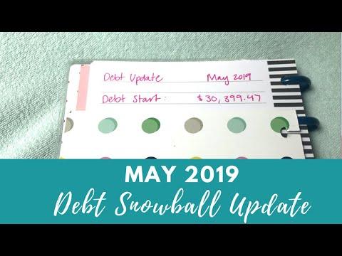 Debt Snowball Update May 2019 | Big Milestone!