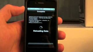 How to Unlock the iPhone 4_3GS_3G! Use Another Carrier! Ultrasn0w! Thumbnail