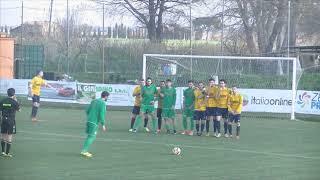 Campionato Eccellenza 2017/2018 23a giornata: Atletico Cenaia - Castelfiorentino (sintesi)
