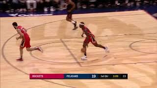 Clint Capela Posts 11 points & 20 rebounds vs  New Orleans Pelicans