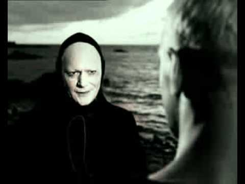The Seventh Seal The knight's first meeting with death