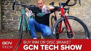 Gambar cover Should You Buy A Rim Or Disc Brake Road Bike Next? | GCN Tech Show Ep. 76