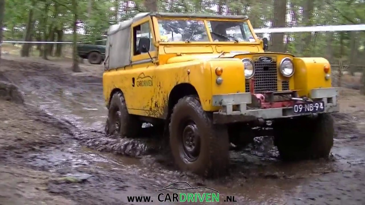 Modified Land Rover Series 2a Off Road