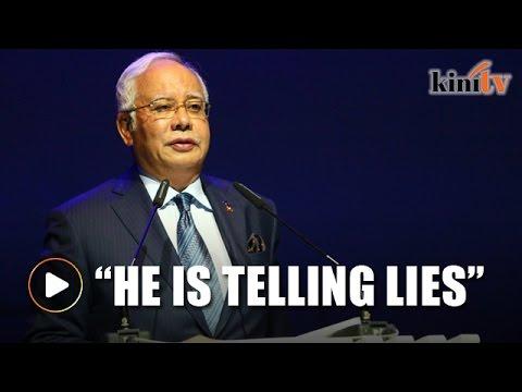 Najib: Former leader pushing fake news about Malaysia