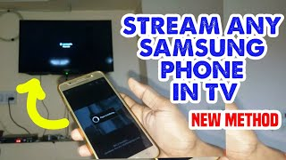 Cast Your Any Samsung Phone In Tv || Enable Screen Mirroring Feature 100% Working thumbnail