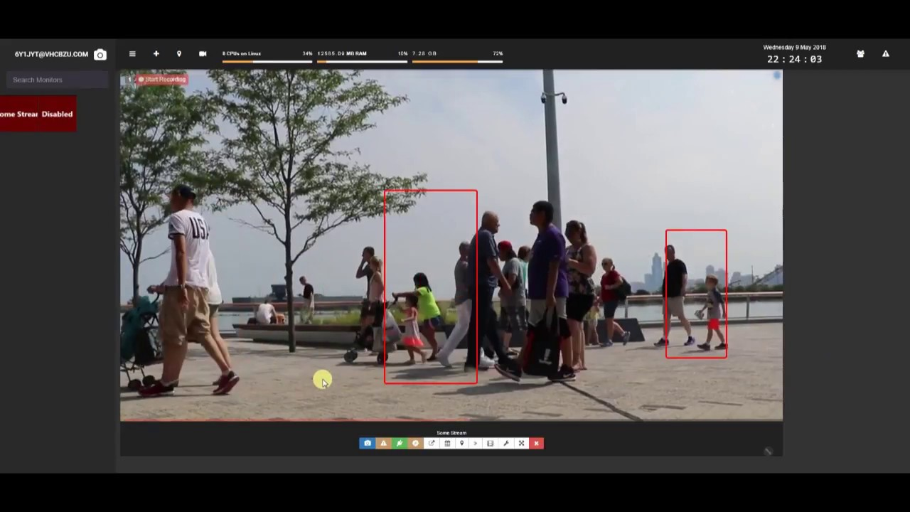 People Detection with Shinobi and OpenCV