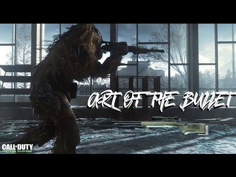 """Art Of The Bullet"" a COD MWR QUICKSCOPING MONTAGE"