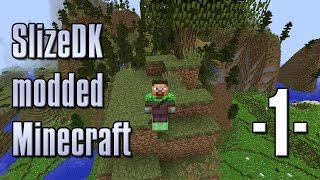 Dansk Minecraft - SlizeDK modpack #1 - Vi hopper rundt! (HD)