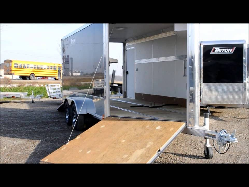 Trailers For Sale Ontario >> Snowmobile Trailers for Sale | Reinhart Trailer Sales - YouTube