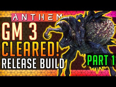 Anthem | Grandmaster 3 Tyrant Mines Completion! Part 1: Stronghold