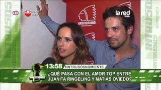 ¿Qué pasa con el amor top entre Juanita Ringeling y Matías Oviedo?