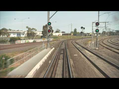 Drivers view: Southern Cross Station to Sunbury Railway station (V/line)