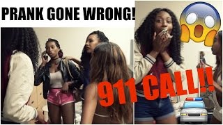 she called 911 prank gone wrong