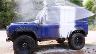 Honda Pressure Washer VS Dirty Land Rover