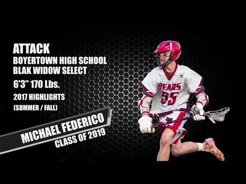 Michael Federico - 2017 Summer / Fall Highlights Update 2