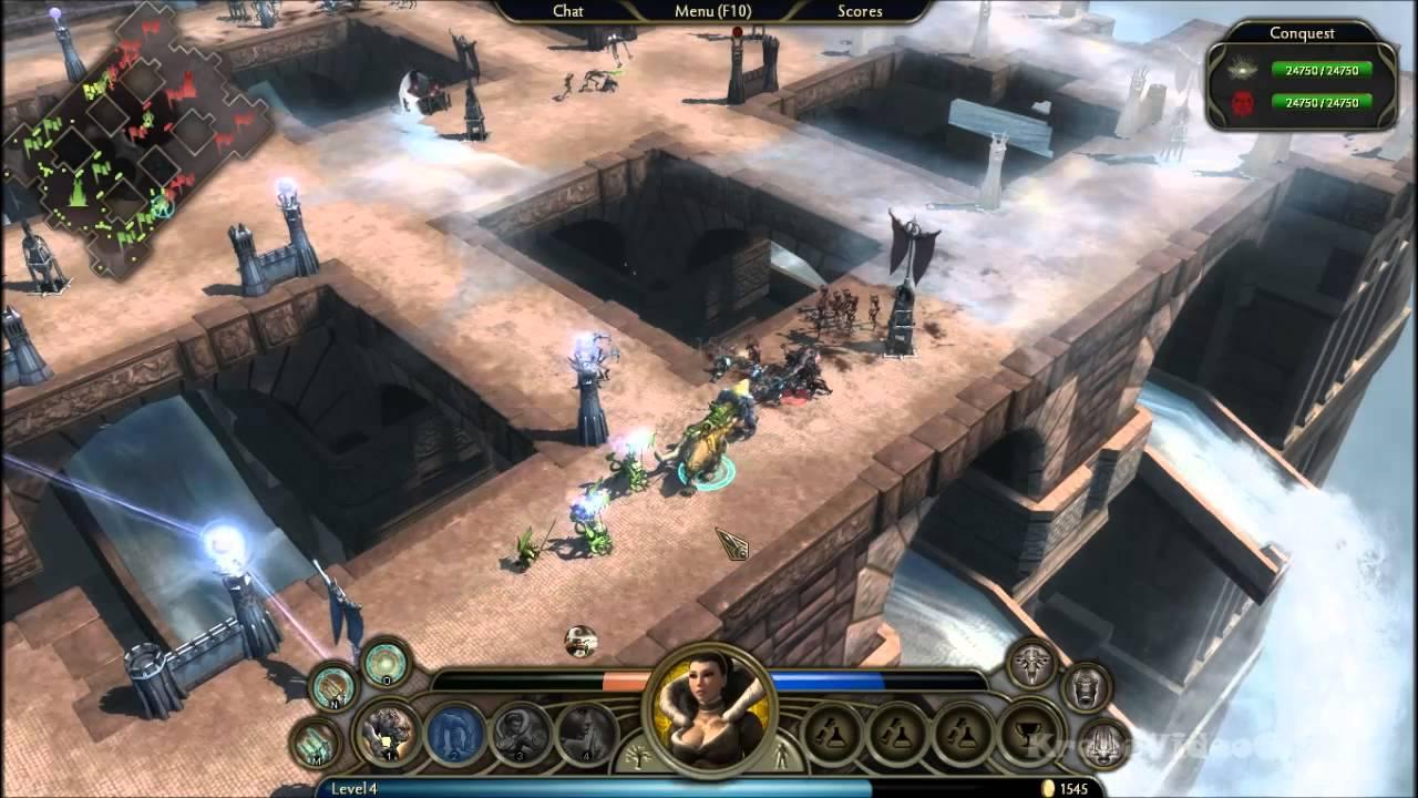 Demigod Gameplay PC HD - YouTube