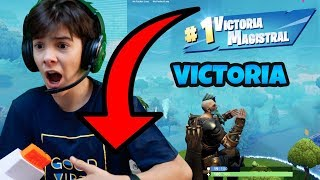 FORTNITE SOLO MASTERFUL VICTORY WITH LEGENDARY SKIN RAGNAROK CAPE