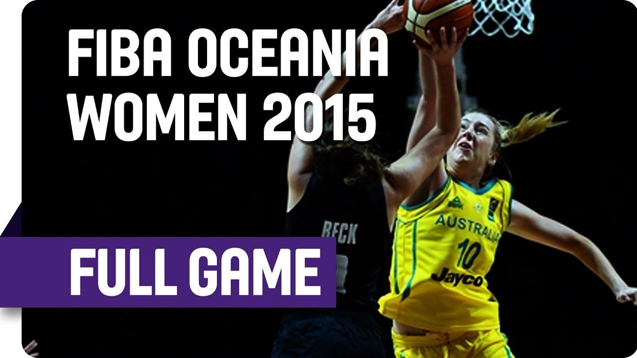 Opals v Tall Ferns Game 2 - 2015 FIBA Oceania Women's Championship