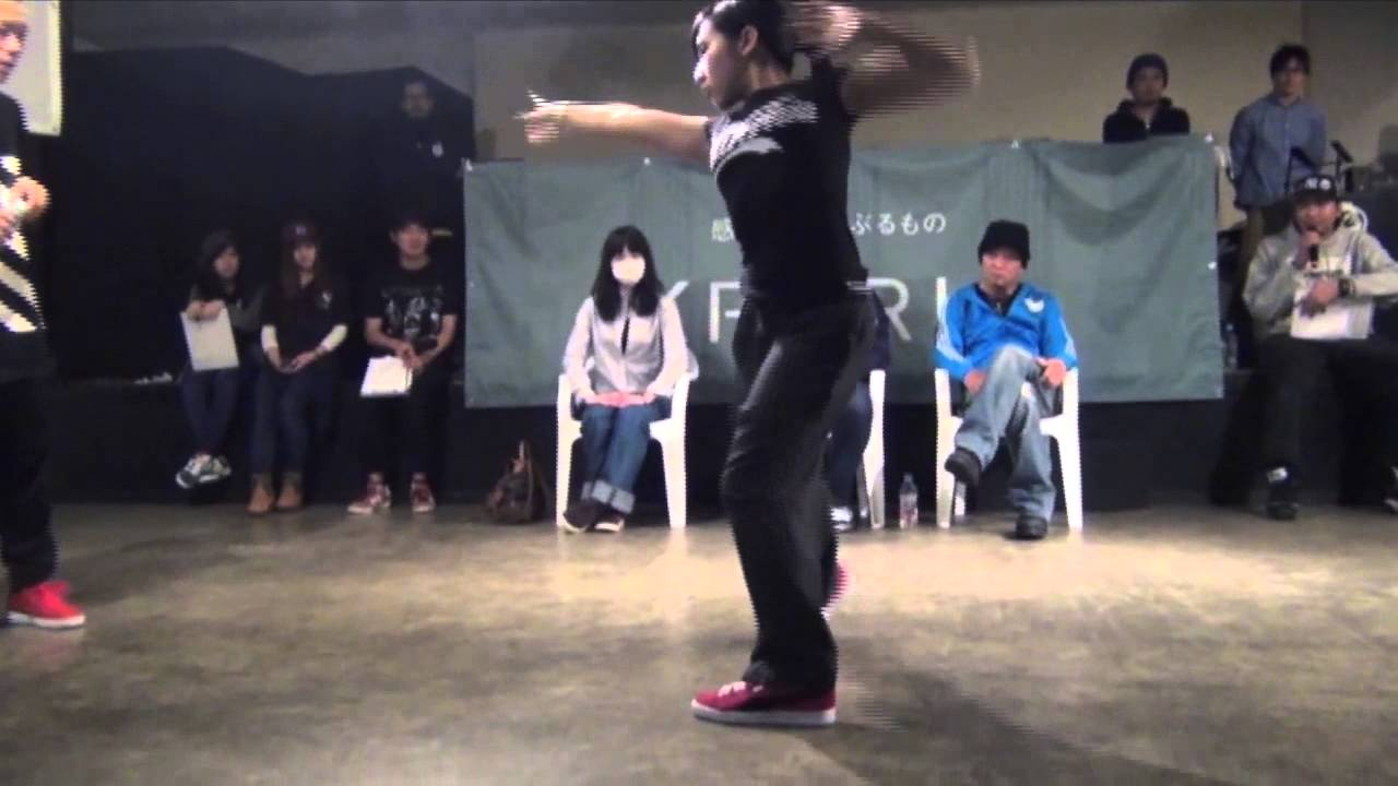 SHUHO (HOUSE OF NINJA)  vs Miei (Dual Tight)  FINAL / DANCE@LIVE FREESTYLE  HOKURIKU 2015