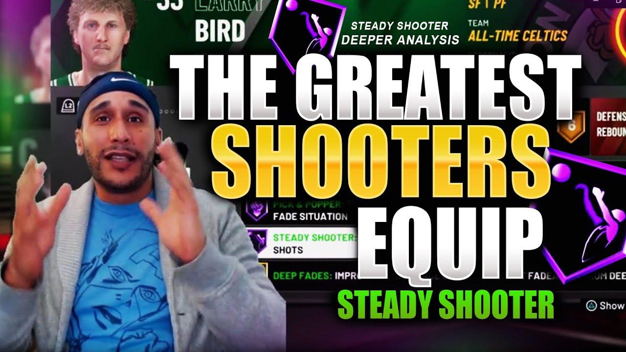 STEADY SHOOTER BADGE DEEPER ANALYSIS ★ 2K DEVELOPERS ...