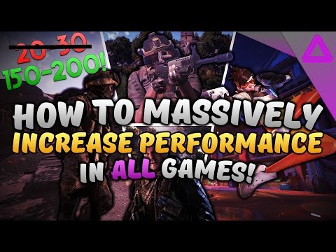 How To Increase FPS in ALL Games (2019) ~ MASSIVE FPS GAINS + FPS Drop Fix! ~ Battlefield 1 + More!