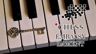Embassy Lament | Chess OST (piano arr. Benny Andersson)
