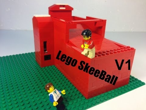 Lego SkeeBall Machine  V1
