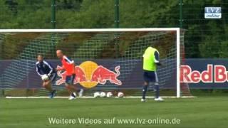 RB Leipzig stellt Neuzugänge vor