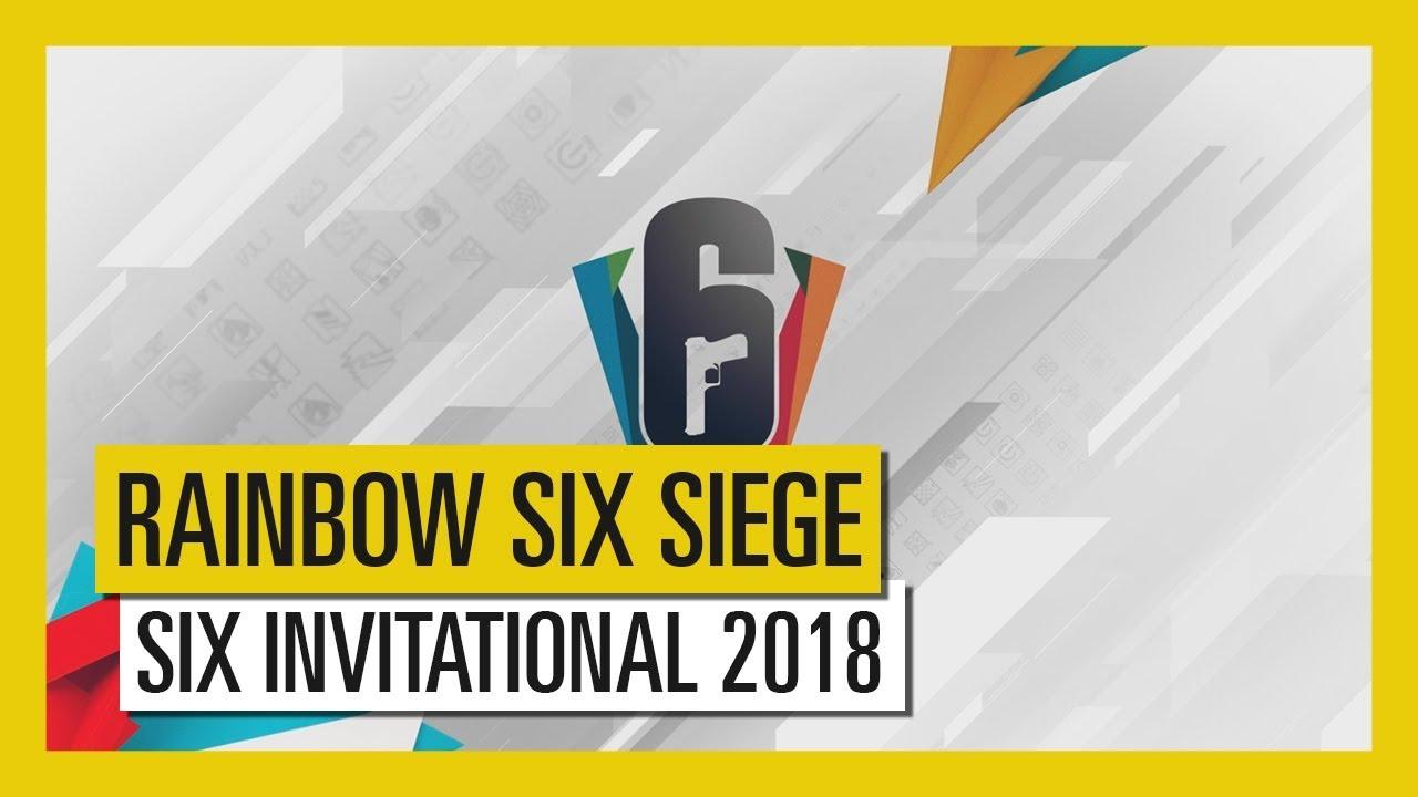 Tom Clancy's Rainbow Six Siege – Six Invitational 2018