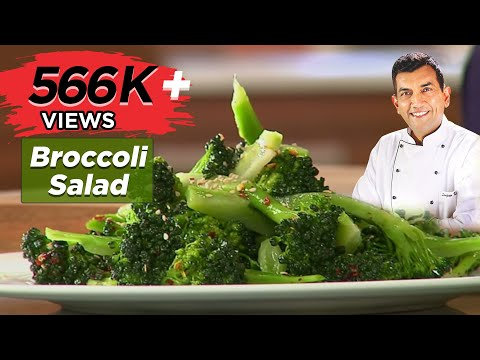 Sanjeev Kapoor Kitchen | Broccole Salad Recipe | Master Chef Sanjeev Kapoor