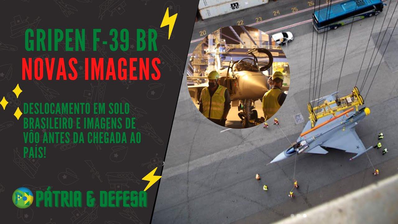 GRIPEN F-39 BR - Novas Imagens da Chegada e Deslocamento em Solo no Brasil. Ele é Nosso!