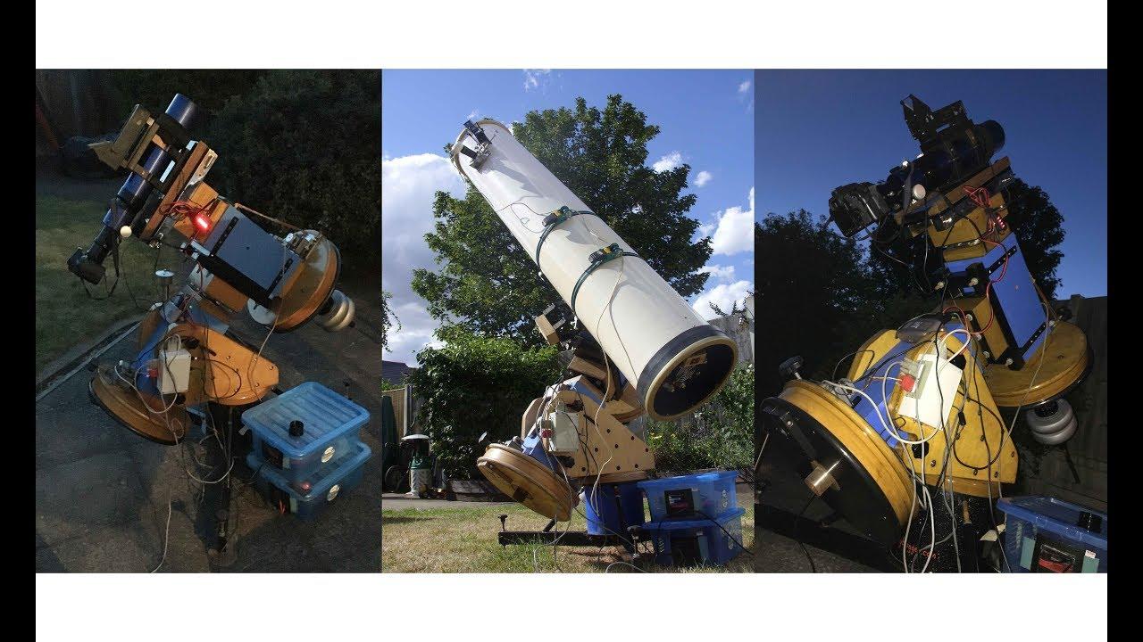 Homemade telescope mount