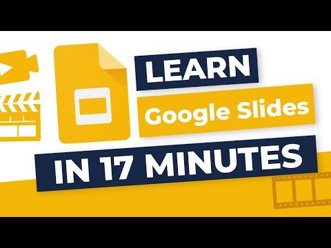 Complete Beginner's Guide To Google Slides [2020]