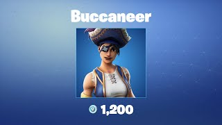 Buccaneer | Roupa/pele Fortnite