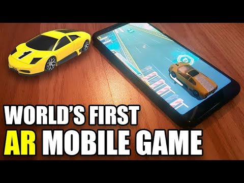 The World's First AR Mobile Game - AR RACER