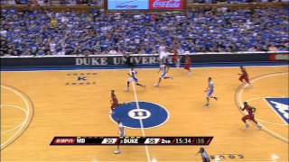 Duke Manhandles Maryland in 09