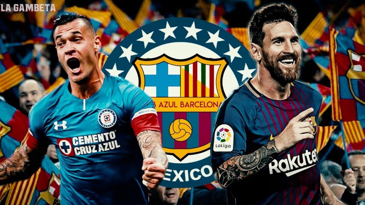 55015af98c5 Increíble! Cruz Azul y Barcelona SE UNEN ¡Pobres