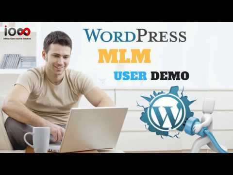 WP MLM Software User Demo