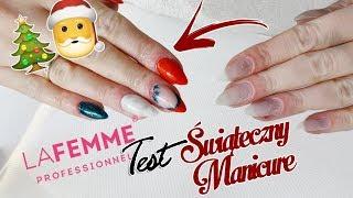 ZESTAW STARTOWY DLA WIDZA! Świąteczny manicure i recenzja lakierów La Femme