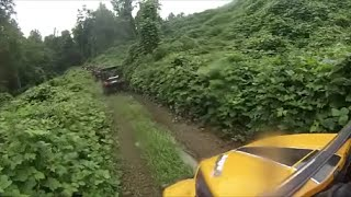 Windrock ATV Club Roosters Destination Ride  Part 1  Aug 15 2015