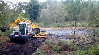 Dredging of Slew Tarn begins at Skelwith Fold Caravan Park 2
