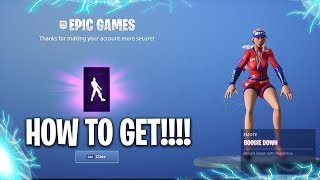 "NEW!!! HOW TO GET THE ""FREE"" BOOGIE DOWN EMOTE IN FORTNITE BATTLE ROYALE!!!"