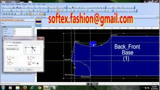 Optitex 12 PDS  CAD garment pattern #1