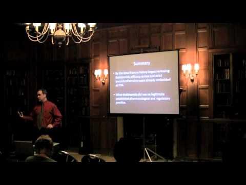 "Dan Carpenter on ""Reputation and Power at the FDA"""