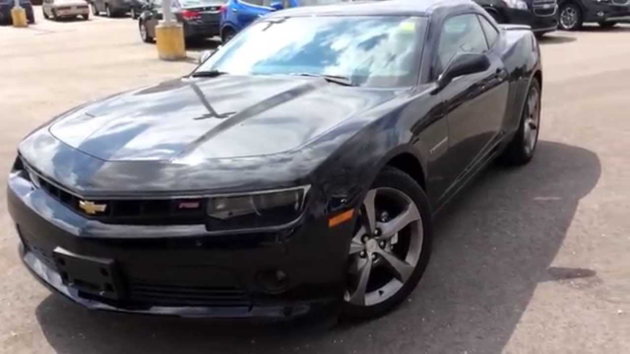 2014 Chevrolet Camaro 1LT RS Walk Around Review | 140429 - YouTube