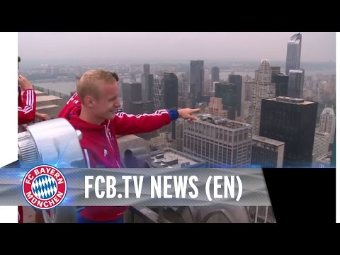 Bayern takes over Manhattan