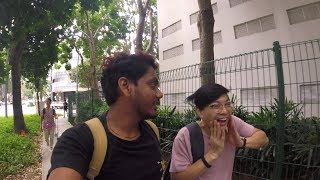 WE GOT LOST IN SINGAPORE