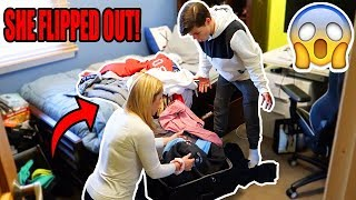 DROPPING OUT OF SCHOOL PRANK ON MOM! (FREAKOUT) thumbnail