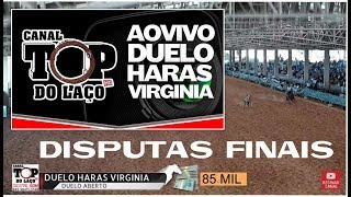 Duelo Haras Virginia  Duelo Aberto E Feminino   Ao Vivo CANAL TOP DO LAÇO Inscreva Se